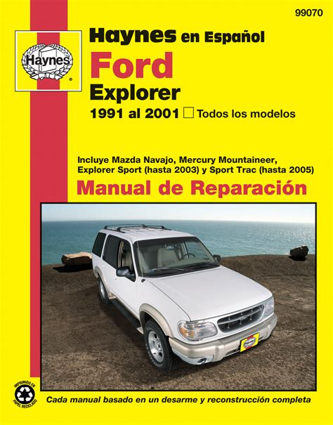 01 Ford Explorer Haynes Manual