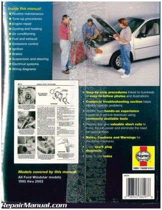 01 Ford Windstar Repair Manual