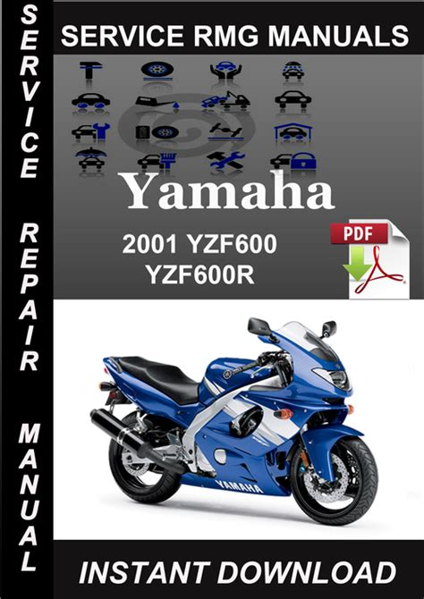 01 Yzf600r Service Manual