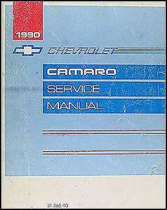 02 Chevy Z28 Repair Manual