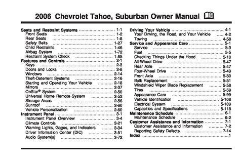 02 Suburban Repair Manual