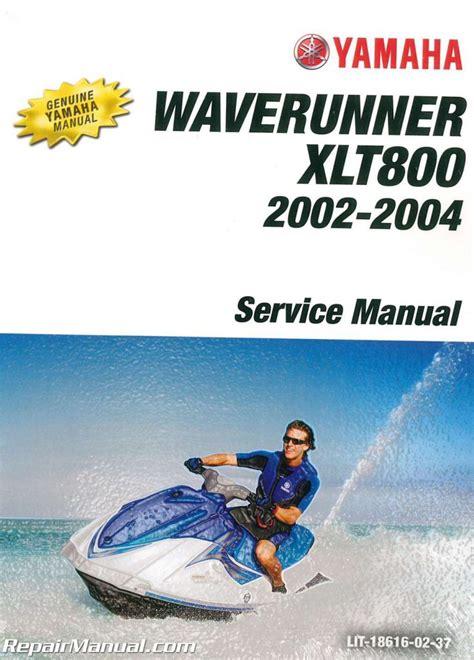02 Yamaha Waverunner Xlt800 Service Manual
