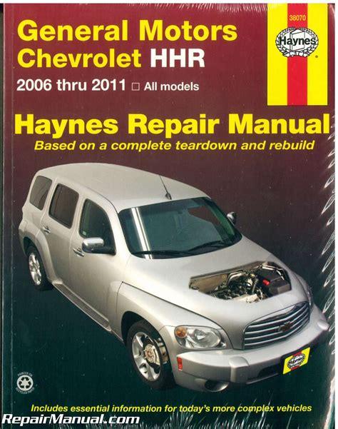 06 Chevy Hhr Repair Manual