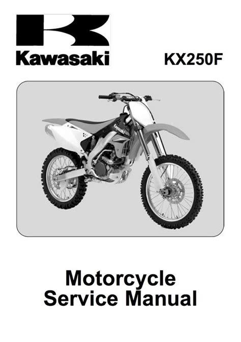 06kx250f Owner Manual