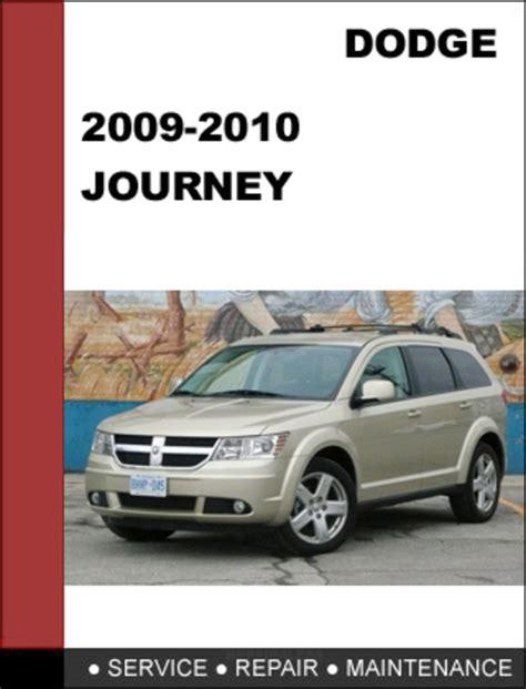 09 Dodge Journey Service Manual