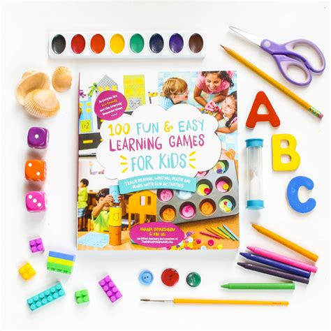100 Fun Easy Learning Games For Kid