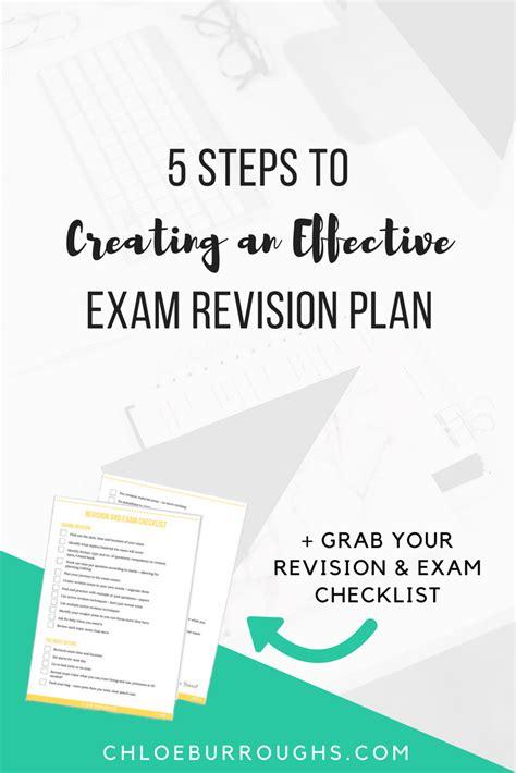 106 Exam Revision Plan
