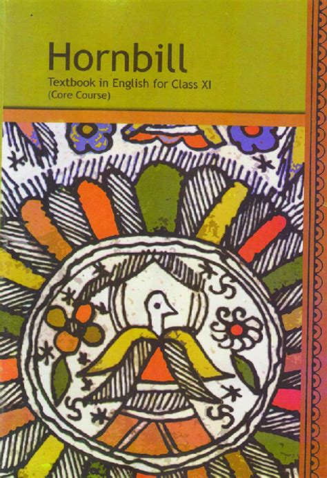 11th Class English Hornbill Answer Guide
