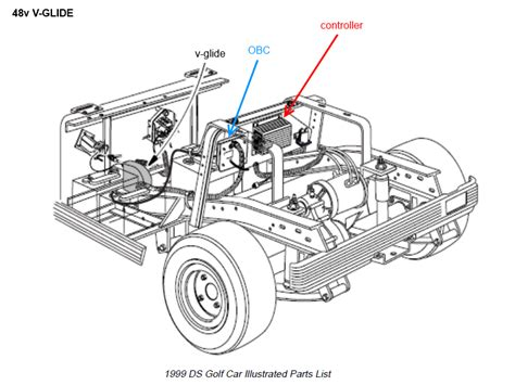 12 Volt Battery 48 Volt Club Car Wiring Diagram