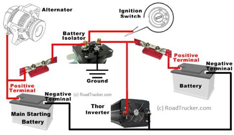12 Volt Battery Isolator Wiring Diagram