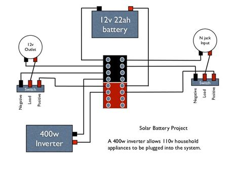 12 Volt Battery Wiring Diagram House