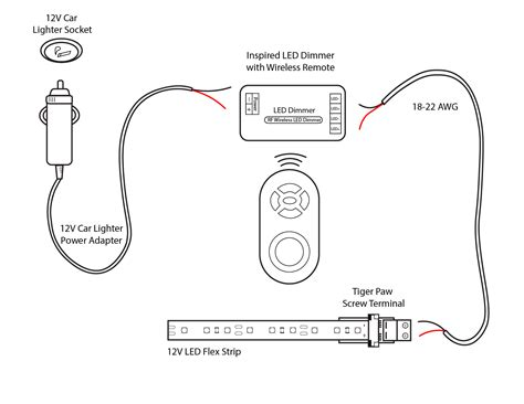 12 Volt Cigarette Lighter Wiring Diagram