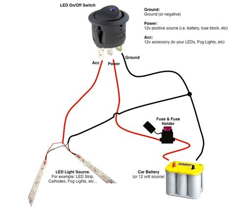 12 Volt Dc Light Wiring Schematics