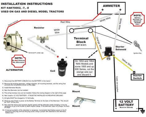 12 Volt Ford Wiring Diagram