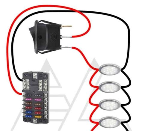12 Volt Led Tail Light Wiring Diagram