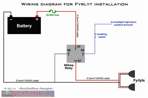 12 Volt Relay Wiring Diagram Free Download