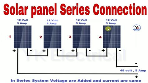 12 Volt Series Wiring Diagram Solar Panel