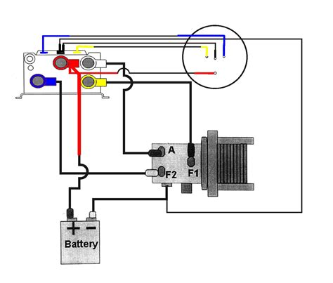 12 Volt Winch To Battery Wiring Diagram
