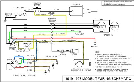 12 Volt Wiring Diagram Model T