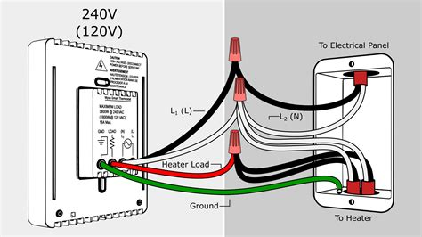 120 Volt Baseboard Heater Thermostat Wiring Diagram