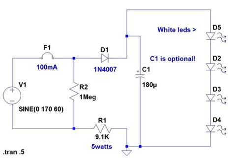 120 Volt Led Wiring Diagram