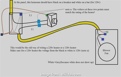 120v Electrical Switch Thermostat Wiring Diagram