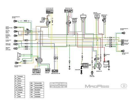 125cc Engine Wiring
