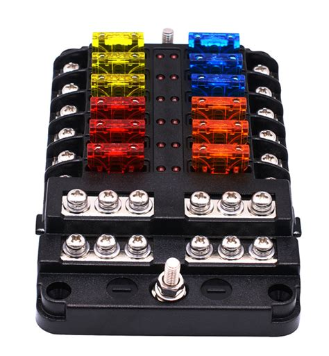 12v Battery With Fuse Box