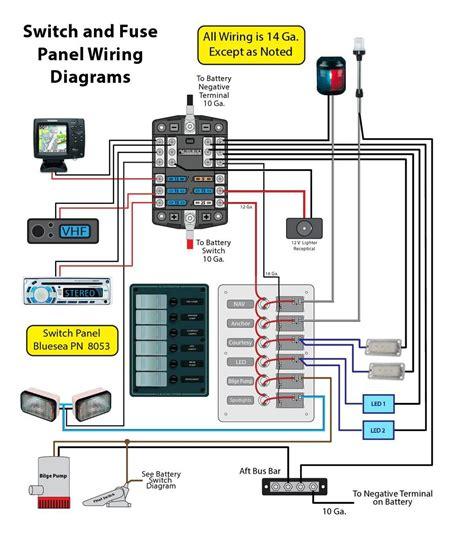 12v Boat Wiring Diagram