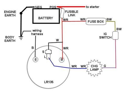 12v Hitachi Alternator Wiring Diagram
