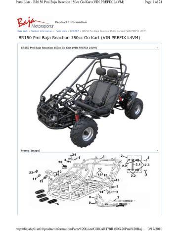 150cc Go Cart Br150 Manual