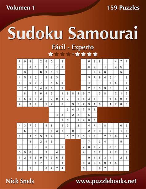 1512342750 Sudoku Samurai De Facil A Experto Volumen 1 159 Puzzles Volume 1