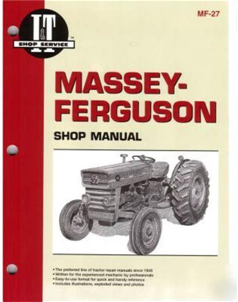165 Massey Ferguson Repair Manual