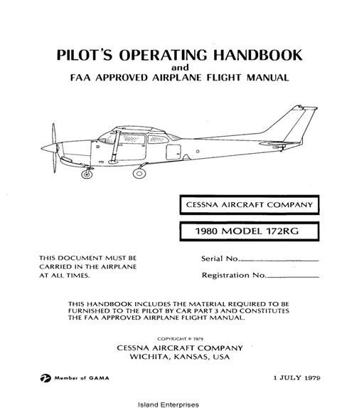 172s Flight Manual