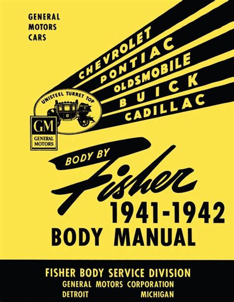 1941 Fisher Body Service Manual