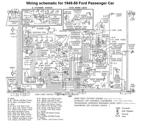 1949 Ford Engine Wiring Diagram