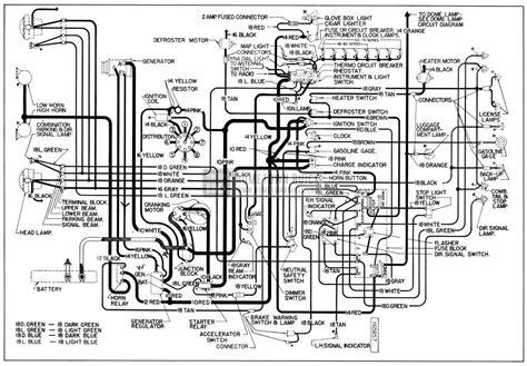 1954 Buick Wiring Diagram