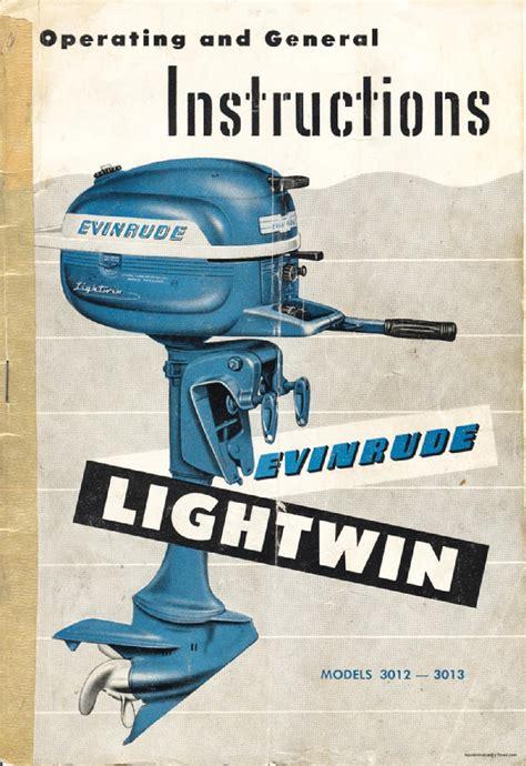 1954 Evinrude 3 Hp Manual