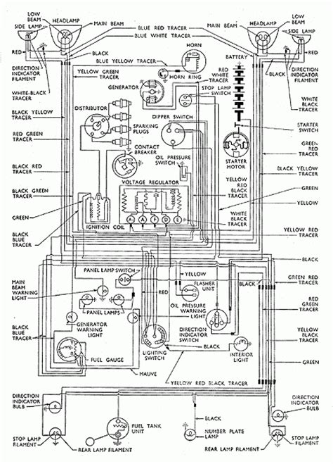 1955 Ford Wiring Harness Diagrams
