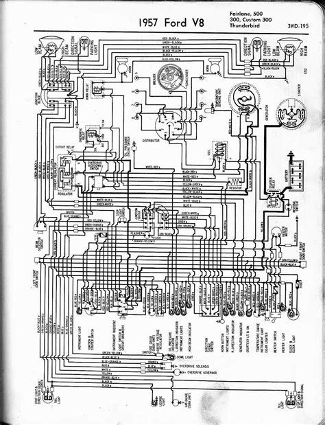 1957 Ford Thunderbird Wiring Diagram