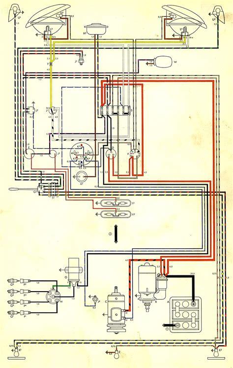 1960 Vw Bus Wiring Diagram