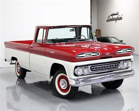 1961 Chevy Apache Truck Manual