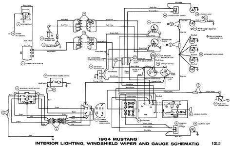 1964 5 Mustang Wiring Diagram Dash