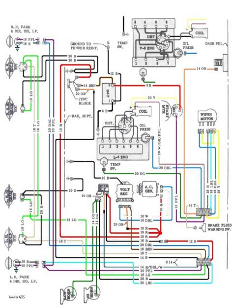 1967 Chevelle Wiring Diagram Pdf