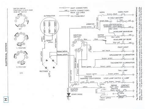 1967 Triumph Bonneville Engine Wiring Diagram
