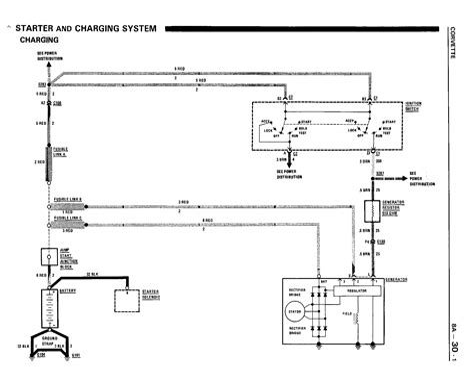 1968 Corvette Alternator Diagram Wiring Schematic