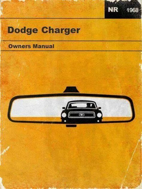 1968 Dodge Charger Service Manual