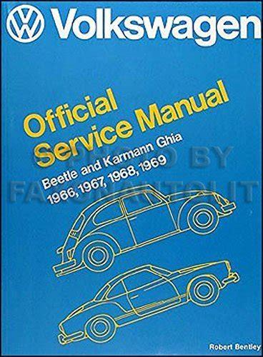 1969 Vw Beetle Engine Repair Manual