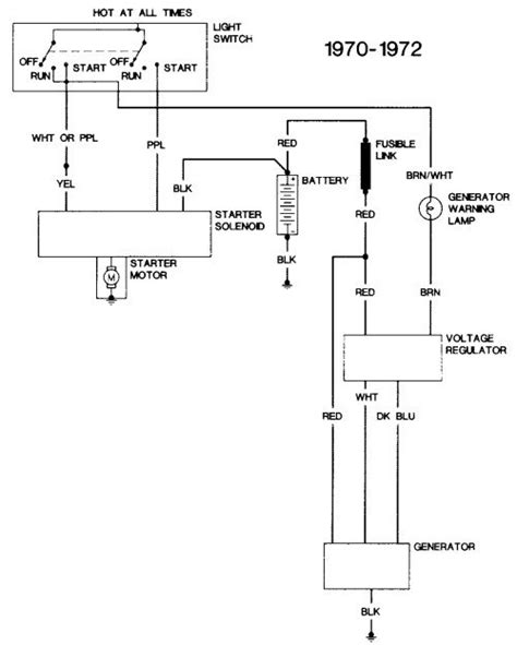 1971 Chevy Pickup Alternator Wiring
