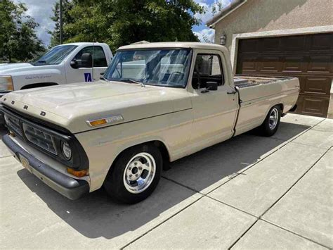 1971 Ford F100 Service Manual